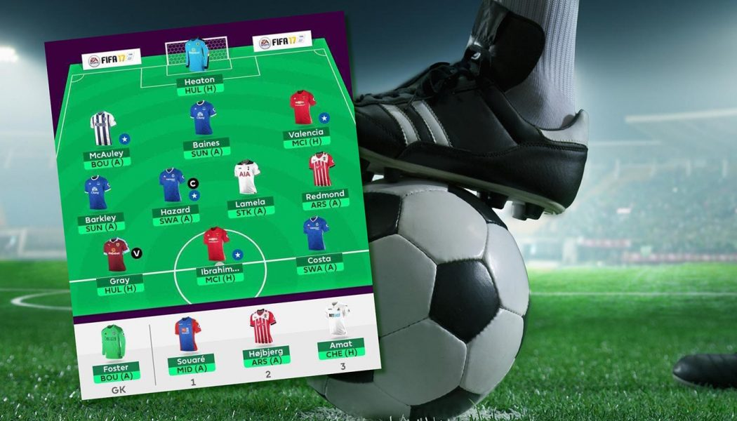 FF247 Fantasy Football Site Team Gameweek 31