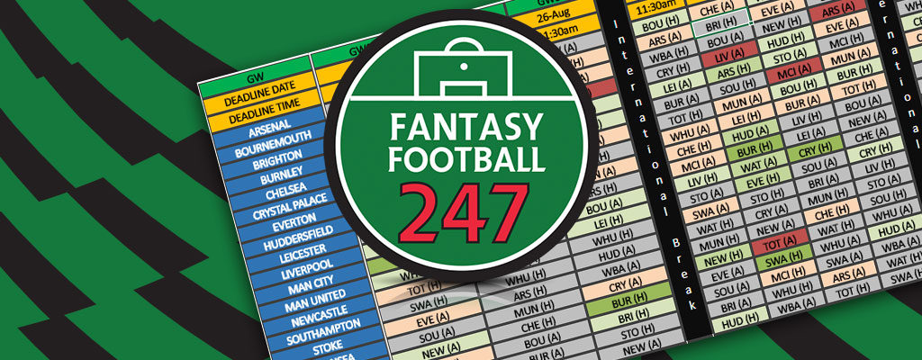 Fantasy Football Fixture Analysis Gameweek 25