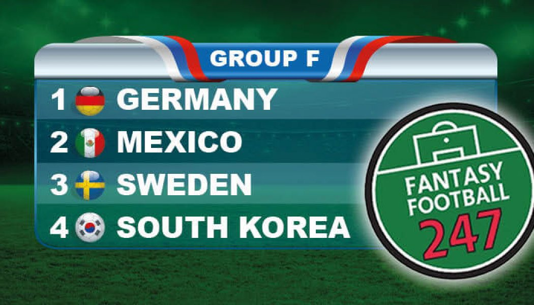 Fantasy World Cup Russia Group F Guide