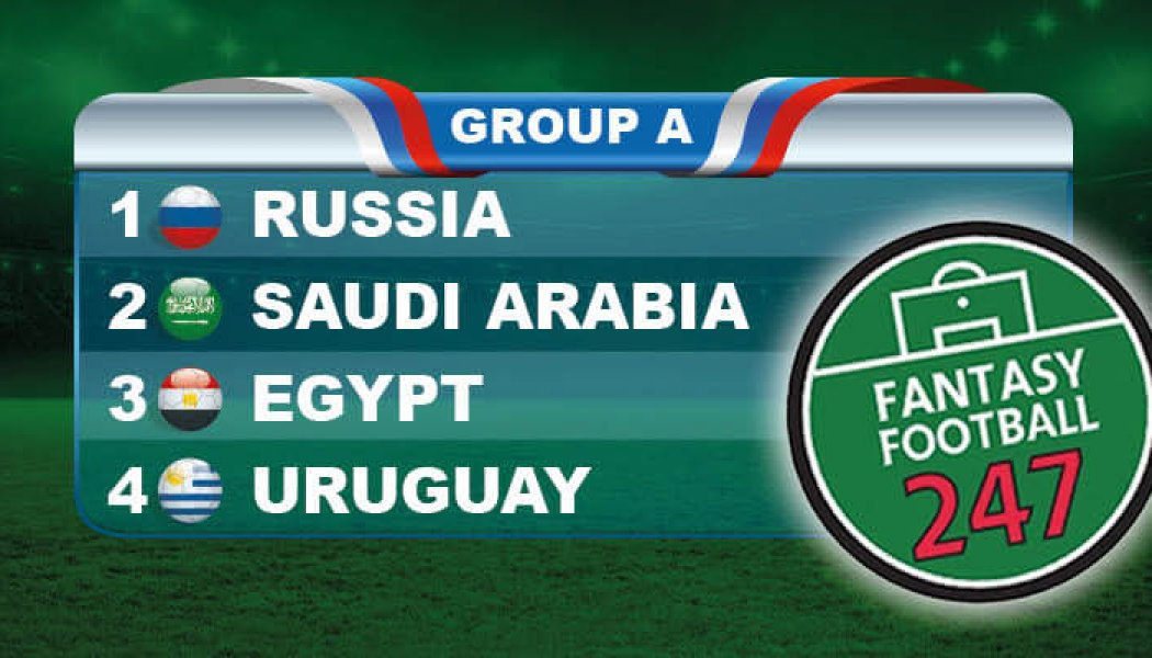 Fantasy World Cup Russia Group A Guide