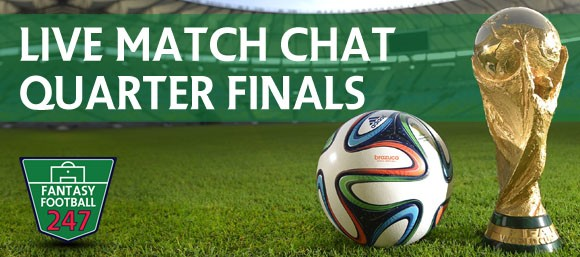 World Cup Live Match Chat Quarter Finals