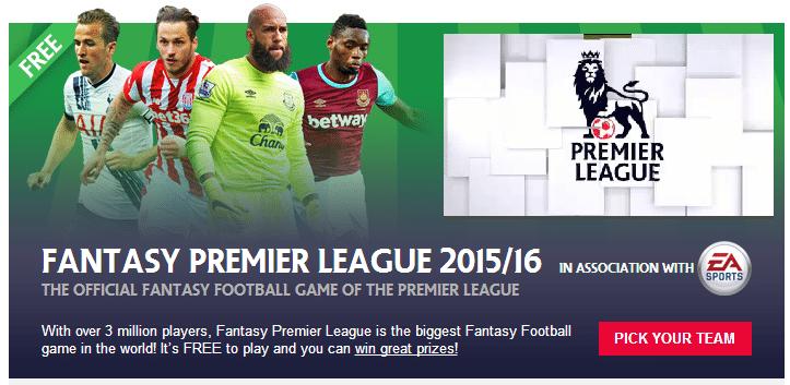 Fantasy football tips 2015/16 FPL