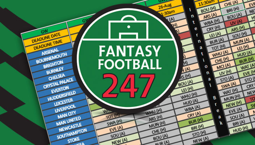 Fantasy Football Fixture Analysis Gameweek 11
