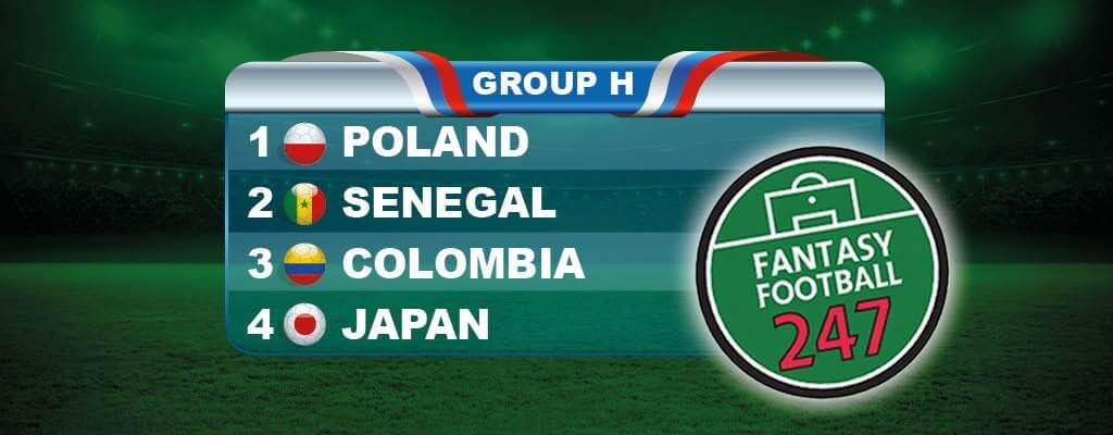 Fantasy World Cup Russia Group H Guide