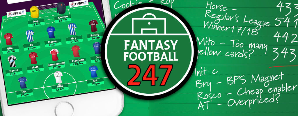 FF247 Fantasy Football Site Team GW19