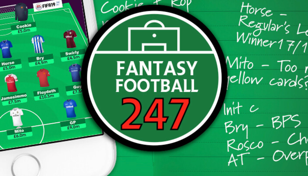 FF247 Fantasy Football Site Team GW25