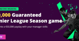 Fanteam offers a £250,000 Fantasy Premier League Season Tournament