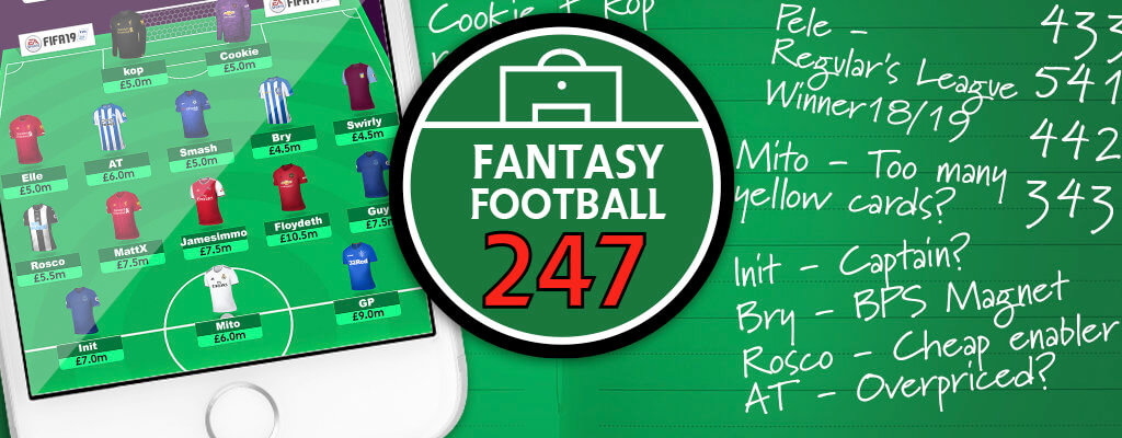 FF247 Fantasy Football Site Team GW1