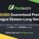 FanTeam season long €250,000 game; late registration?