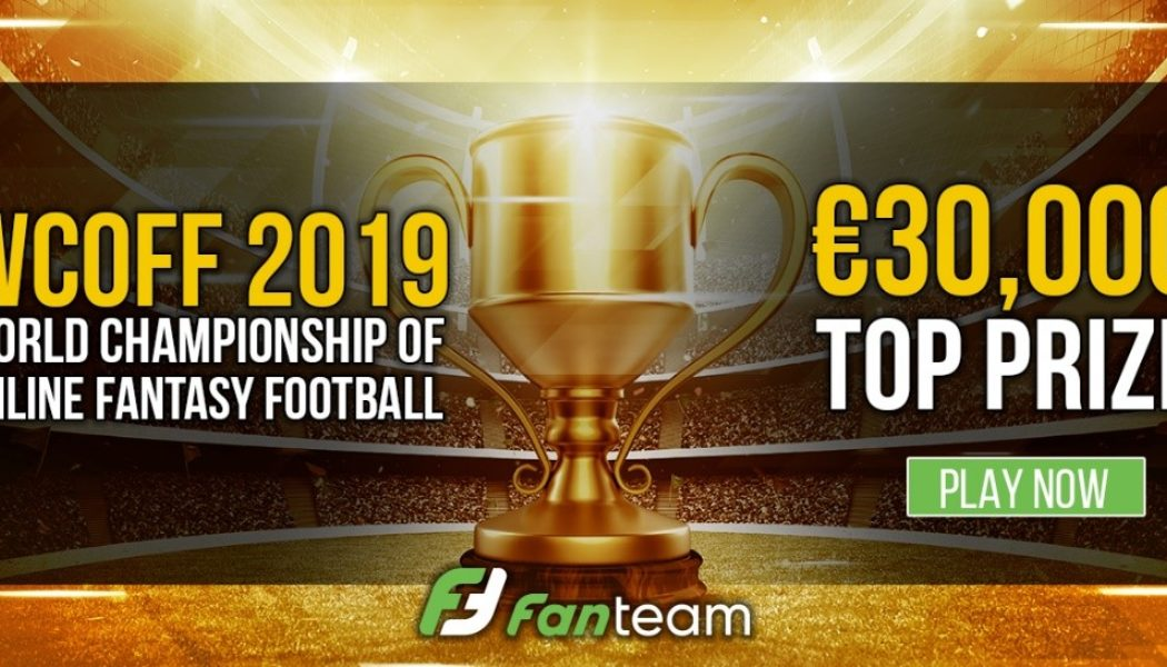 2x €3000 Rookie Xmas Freeroll on Fanteam!