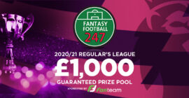 Fantasy Premier League £1k Regulars League 2020/21