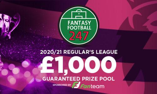 Fantasy Premier League £1k Regulars League 2020/21