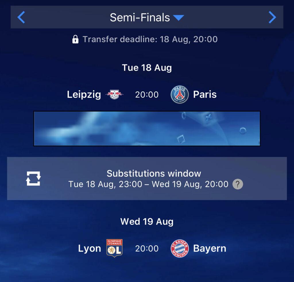 uefa champions league fantasy football 2019 20 semi final and final fantasy football 247 premier league tips uefa champions league fantasy football