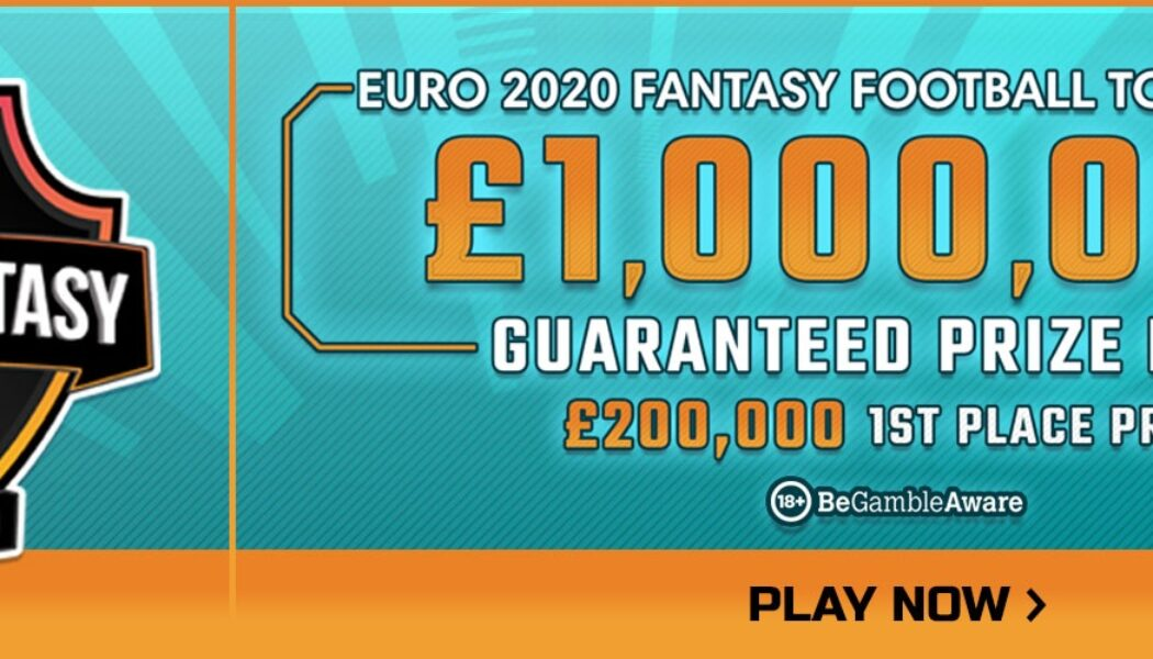 Win your share of £1,000,000 in FanTeam's Euro 2020 Fantasy Football Tournament