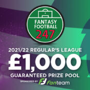 Fantasy Premier League £1k Regulars League 2021/22